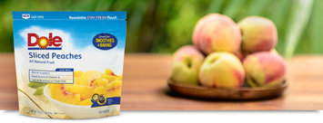 Dole Sliced Peaches All Natural Fruit