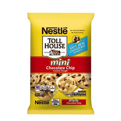 Nestlé® Toll House® Refrigerated Mini Chocolate Chip Cookie Dough