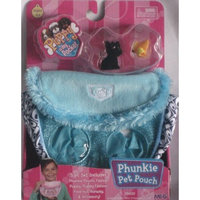 Puppy in My Pocket Phunkie Pet Pouch, Blue with Laddy, Scottish Terrier a Bookworm