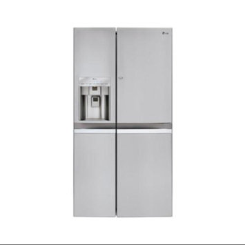 LG 21.6 cu. ft. Counter Depth Side-by-Side Refrigerator LSC22991ST