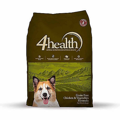 4health Puppy Food >> 4health Grain Free Chicken Vegetables Formula Adult Dog Food