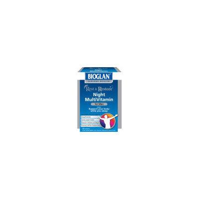 Bioglan - General Wellbeing Bioglan Rest and Restore Night Multi Vitamins for Men (30 Capsules)