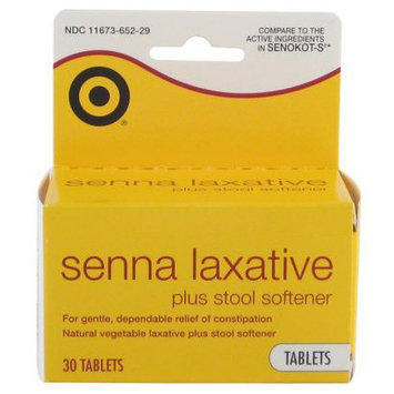 Up & Up Senna Laxative Plus Stool Softener Tablet 30-pk.