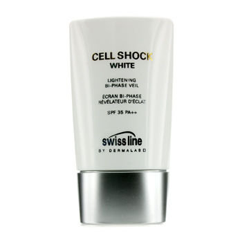 Swissline Cell Shock White Lightening Bi-Phase Veil SPF 35 PA++ 45ml/1.8oz