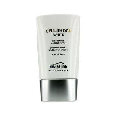 Swissline Cell Shock White Lightening Bi-Phase Veil SPF 35 PA++ 45ml/1.8oz