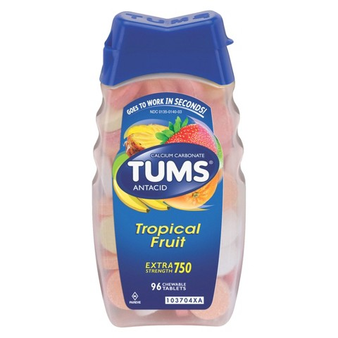 Tums Extra Strength Tropical Fruit