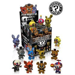 FNAF S1 12 PC PDQ (VFIG) by FUNKO MYSTERY MINI
