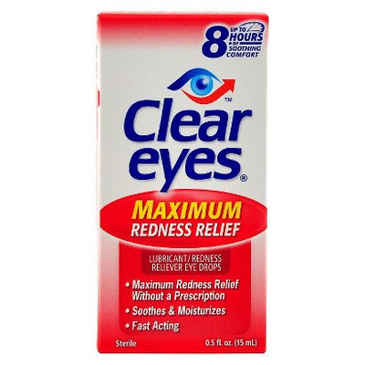 Clear Eyes Maximum Redness Relief - 0.5 fl oz