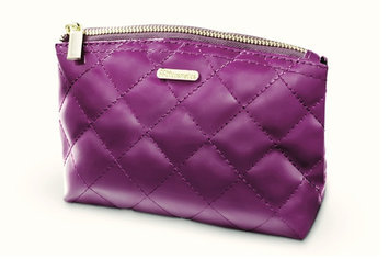 Bh Cosmetics Grape Quilted Bag