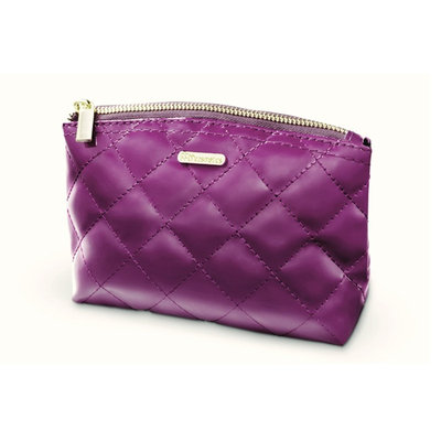 BH Cosmetics Grape Quilted Makeup Bag