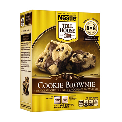 Nestlé® Toll House® Cookie Brownie Kit