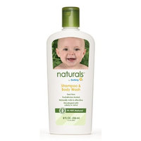 Safety 1st Naturals Shampoo & Body Wash, 8-Fluid Ounce Bottles (Pack of 3)