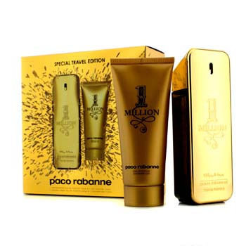Paco Rabanne 11075335714 One Million Special Travel Edition Coffret Eau De Toilette Spray - 100 ml.