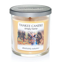 Yankee Candle simply home 7-oz. Absolutely Autumn Jar Candle (Yellow)