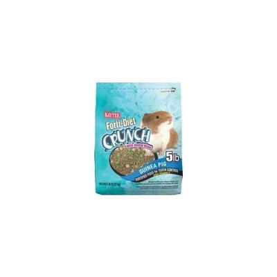 Kaytee Forti-Diet Crunch Guinea Pig Food, 5-Pound
