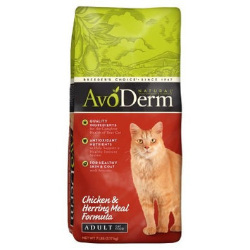 AvoDerm Natural Chicken and Herring Meal Formula Adult Cat Food