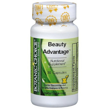 Botanic Choice Beauty Advantage Dietary Supplement Capsules