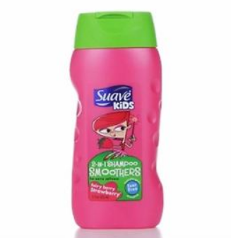 Suave® Kids 2 in 1 Smoothers Fairy Berry Strawberry Shampoo
