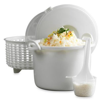Infuse 15-Cup Microwave Rice Cooker Set by Tabletops Unlimited