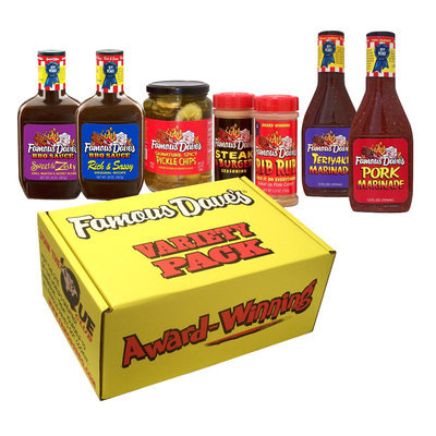 Famous Daves Famous Dave's Variety Gift Box