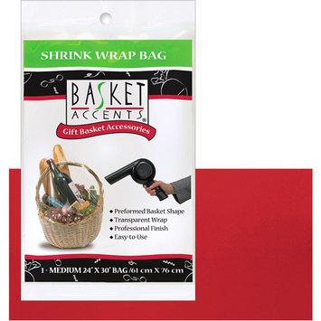 Photo Frog 66002 Basket Accents Shrink Wrap Bag Medium 24X30 1/Pkg