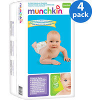 Munchkin Super Premium Diapers, count 42, size 2