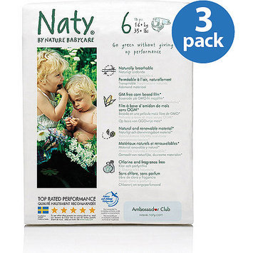 Nature Babycare Eco-Diapers, count 54, Size 6