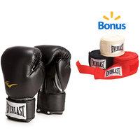 Everlast Sport Everlast Boxing Pro Style 12 oz. Training Gloves - Black