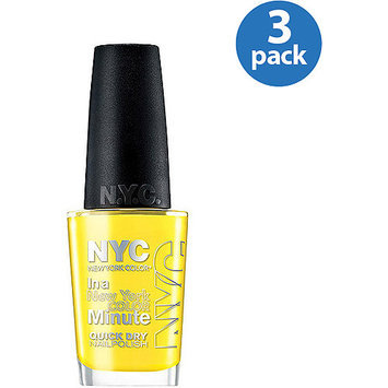 New York Color In A New York Color Minute Nyc In A Minute Quick Dry Nail Polish