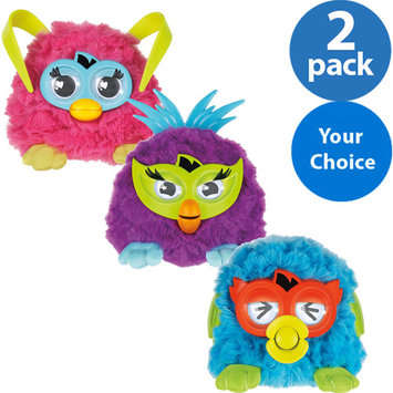 Furby Party Rockers Creature (Dark Blue with Horns)