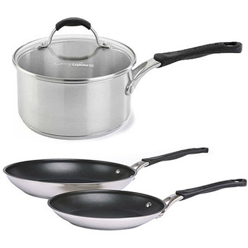 Cooking With Calphalon Hard-Anodized 2-Pc. Omelet Pan Set