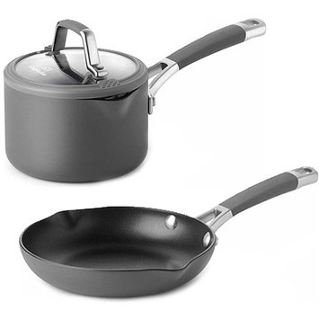 Cooking With Calphalon Easy-System 1 1/2-Qt. Hard-Anodized Sauce Pan