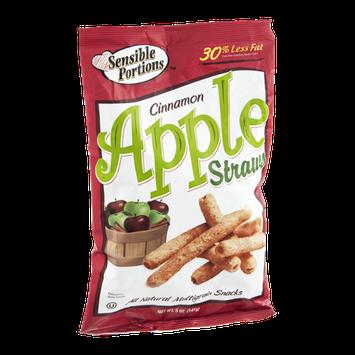 Sensible Portions Apple Straws Cinnamon