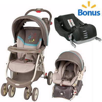 Baby Trend Envy Travel System, Scooter with BONUS base