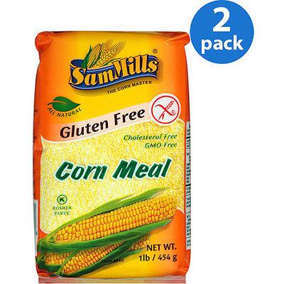 Sam Mills Corn Meal Gluten Free 1 Lb Pack of 10