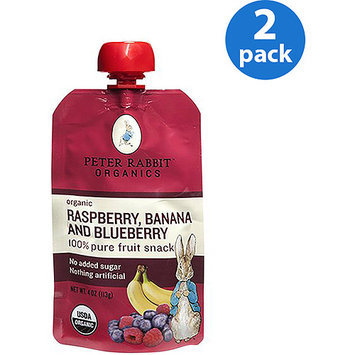 Peter Rabbit Organics BBY, OG2, RSPBRY, BAN, BLBRY, (Pack of 10)