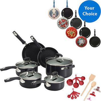 Guy Fieri 24-pc Black Cookware Set