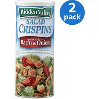Hidden Valley Salad Crispins, Bac n & Onion, 2.5 oz