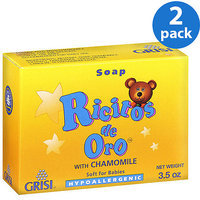 Grisi Ricitos De Oro Chamomile For Babies Bar Soap 3.5 oz