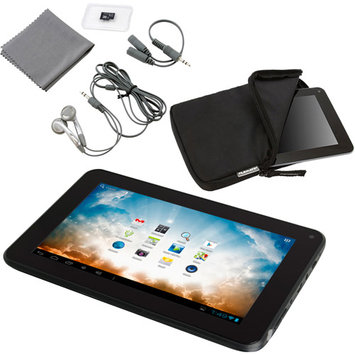 Apex AP-EM63 Tablet PC with Google Play - Cortex A9 1.6 GHz Dual-Core Processor - 1GB DDR3 RAM - 8GB Storage - 7.0-inch Display - Android 4.1 Jelly Bean - Black