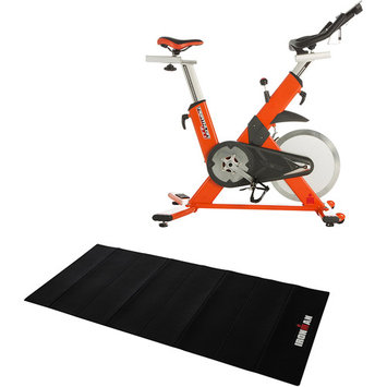Paradigm Health And Wellness Inc IRONMAN Triathlon X-Class 510 Smart Technology Indoor Cycle Trainer with Bonus Accessories