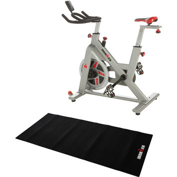 Paradigm Health & Wellness, Inc. IRONMAN H-Class 510 Indoor Cycle Trainer with Bonus Equipment Mat