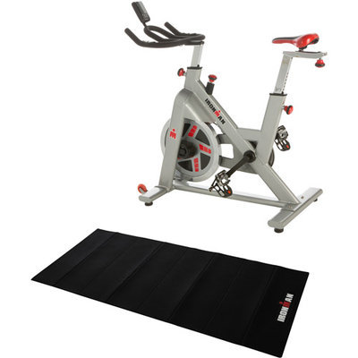 Paradigm Health & Wellness, Inc. IRONMAN H-Class 510 Indoor Cycle Trainer with Bonus Equipment Mat