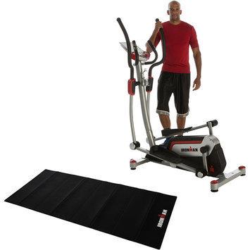 Paradigm Health & Wellness, Inc. IRONMAN H-Class 610 Smart Technology Elliptical Trainer with Bonus Equipment Mat