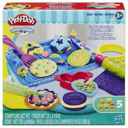 Play-Doh Sweet Shoppe Cookie Creations Playset by Hasbro, Multi/None