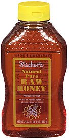 Fischer's Natural Pure Raw Honey
