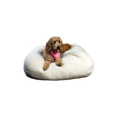 Everest Pet Sherpa Puff Ball Round Pet Bed - 18
