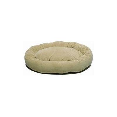 Everest Pet Carolina Pet Company Large Microfiber Bagel Bed Green