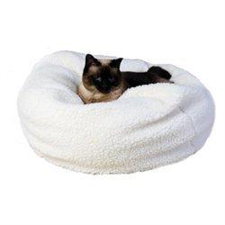 Shopgetorganized Carolina Pet Company Sherpa Puff Ball Pet Bed Medium