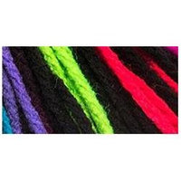 Red Heart Super Saver Yarn-Neon Stripes
